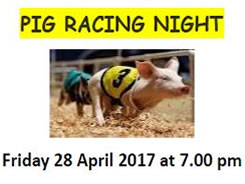 Have you got your ticket for the pig racing??