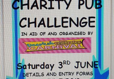Fancy Dress Charity Pub Challenge is back!