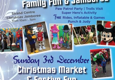 Stall at Christmas Market and Football Darts